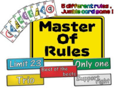 Master of rules