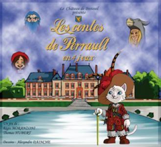 Les contes de Perrault en 4 jeux