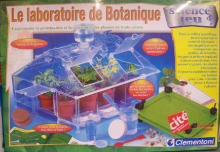 Le laboratoire botanique