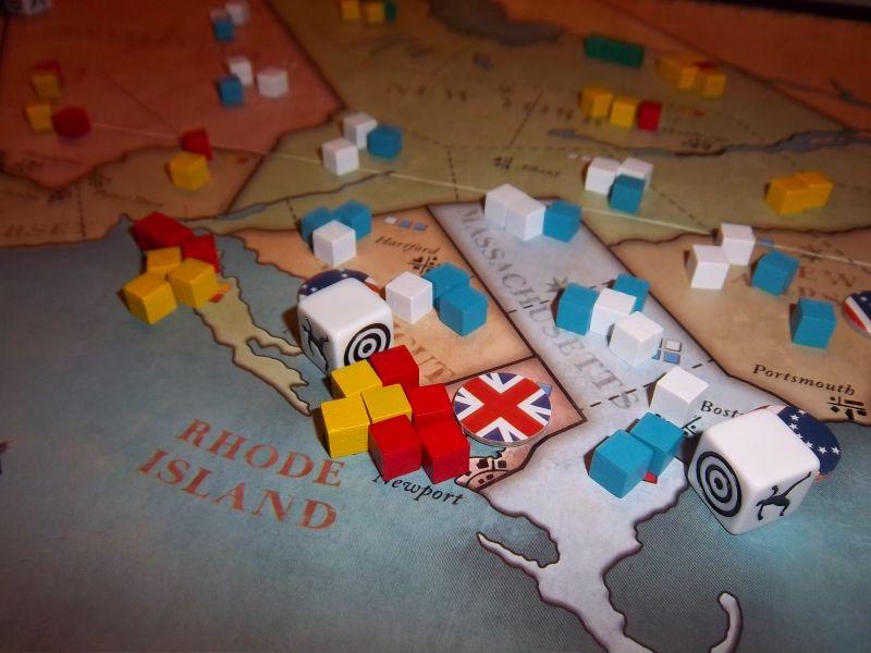 Un gros plan sur une région qui fut très disputée avec de gros combats...