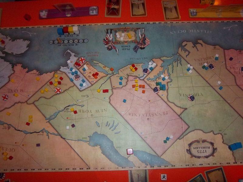 Une partie de 1775: Rebellion