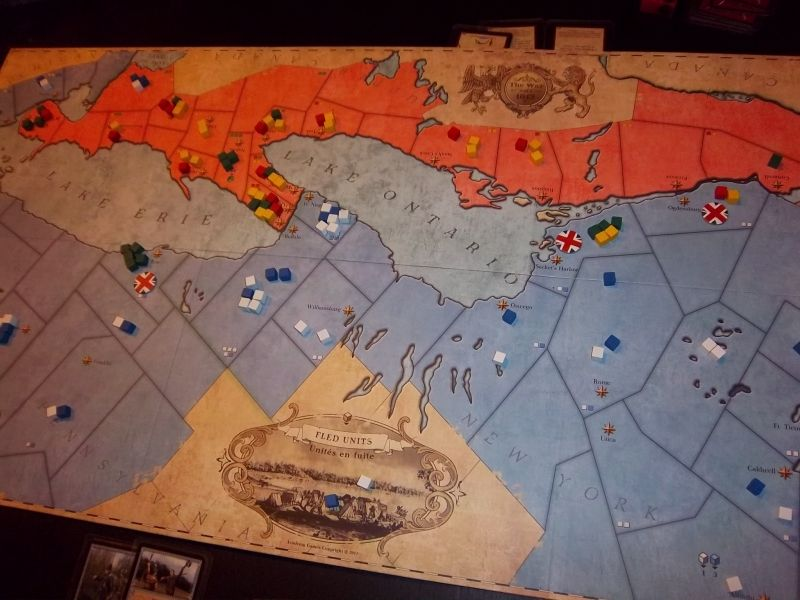 Après 2 tours, les choses se passent plurôt bien pour les anglo-canadiens. L'offensive américaine patauge et ils ont même perdu des provinces...