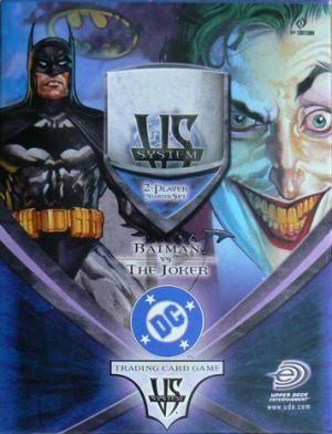 Vs System - Starter Deck : DC Batman vs The Joker