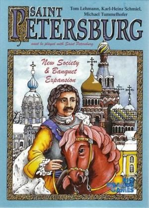 Sankt Petersburg - new society & banquet expansion