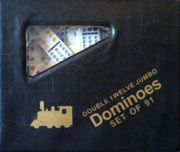 Domino Double 12 Mexican Train