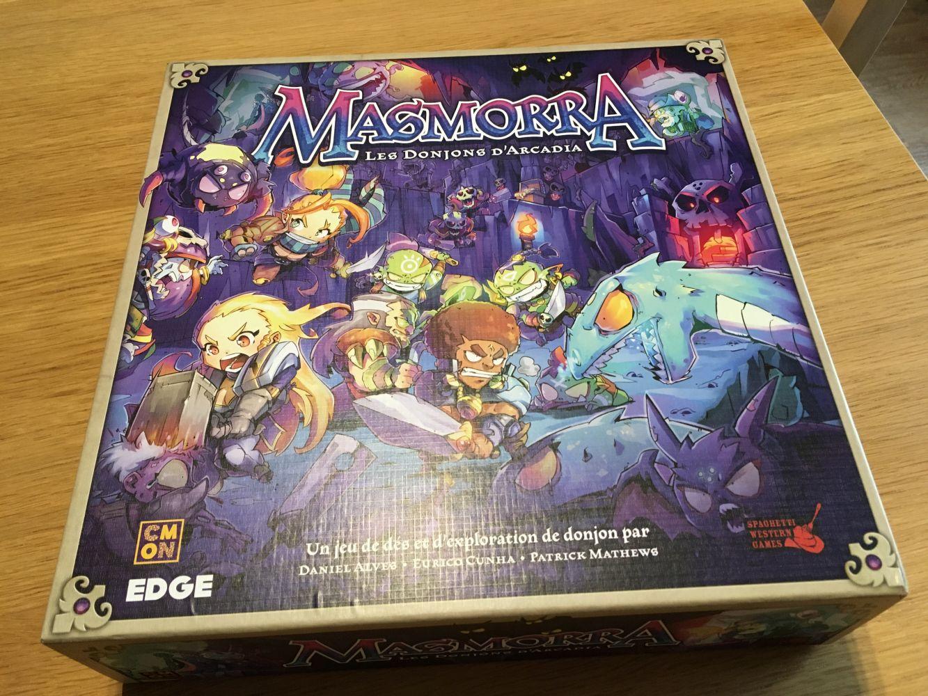 La boite de Masmorra : Les Donjons d'Arcadia