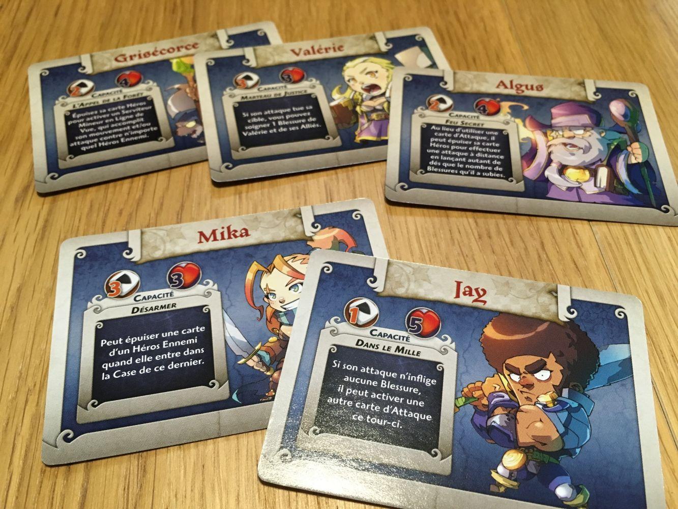 Cartes pour Arcadia Quest