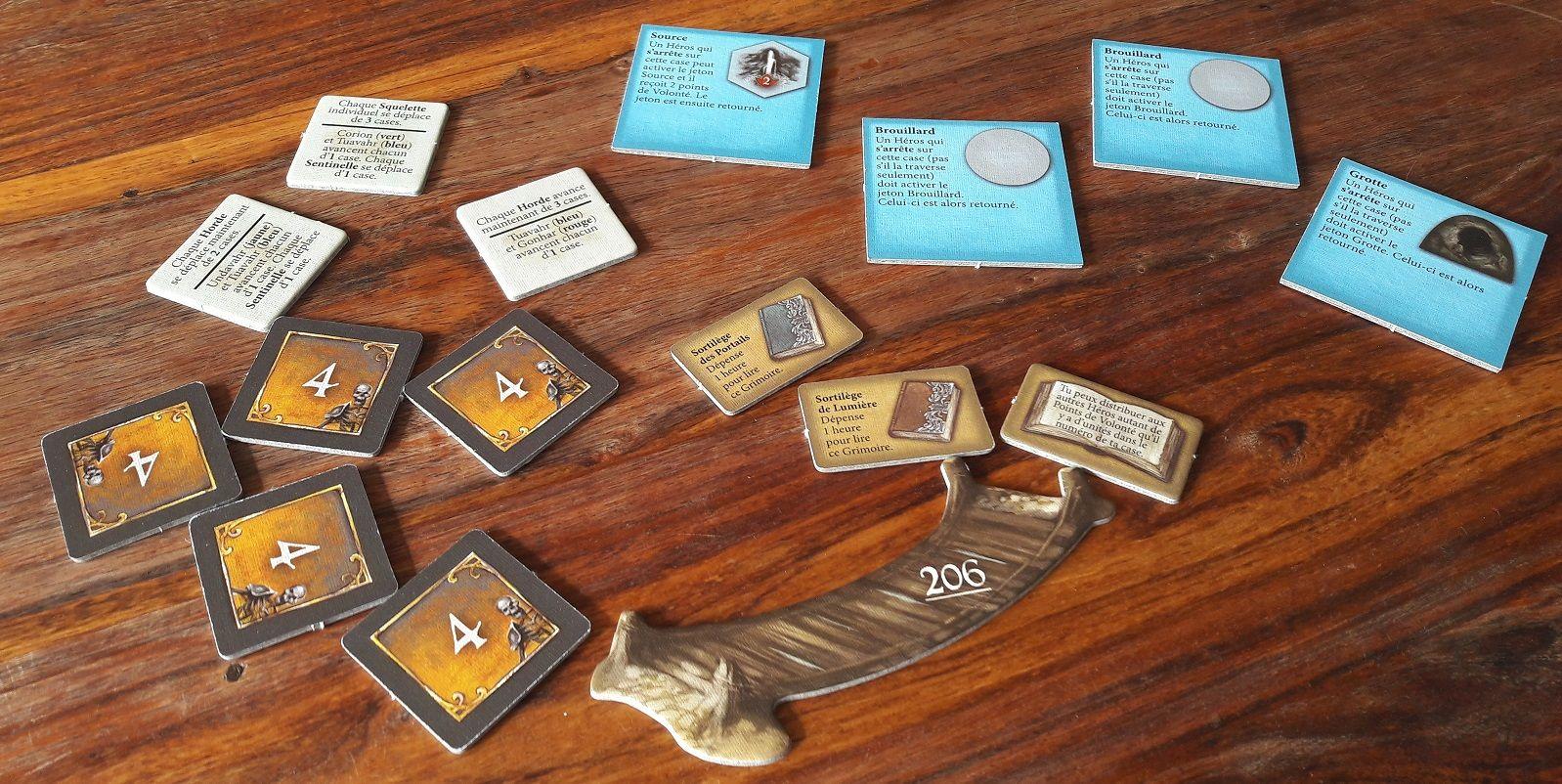 Les tuiles tutoriel, squelette, des parchemins et... un pont :D