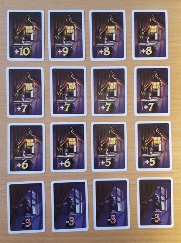 Les 16 cartes Cambriolage