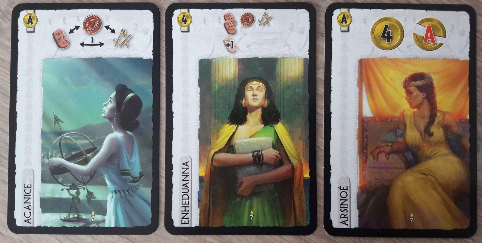 Aganice, Enheduanna & Arsinoé