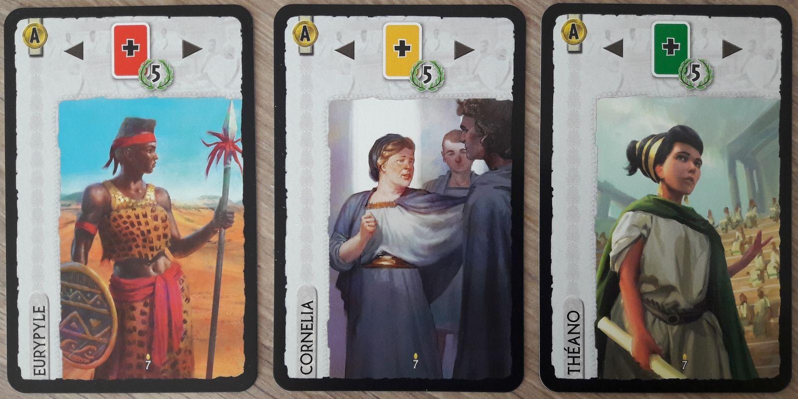 Eurypyle, Cornelia & Théano