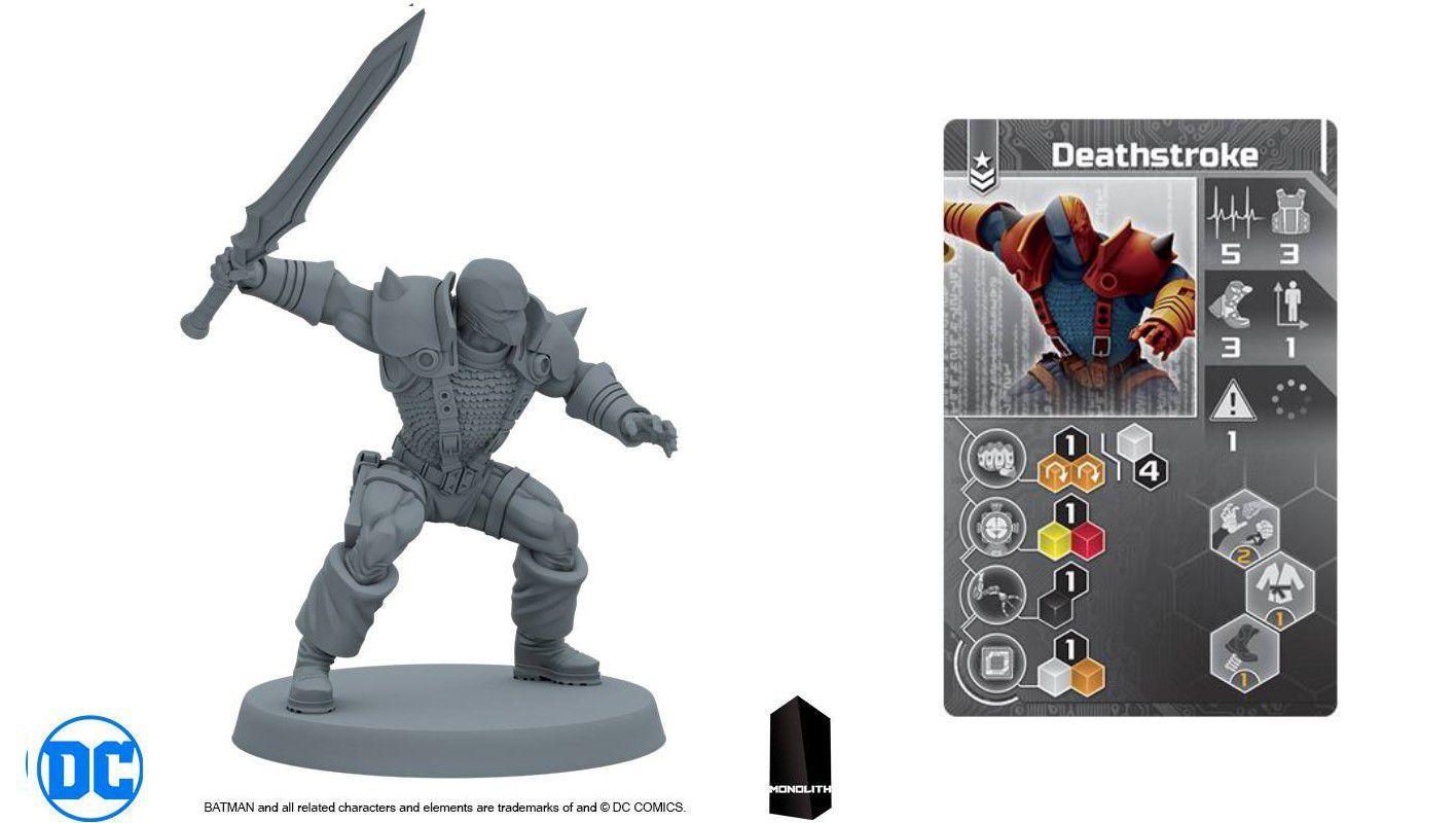 Deathstroke un des méchants emblématiques de l'univers DC Comics