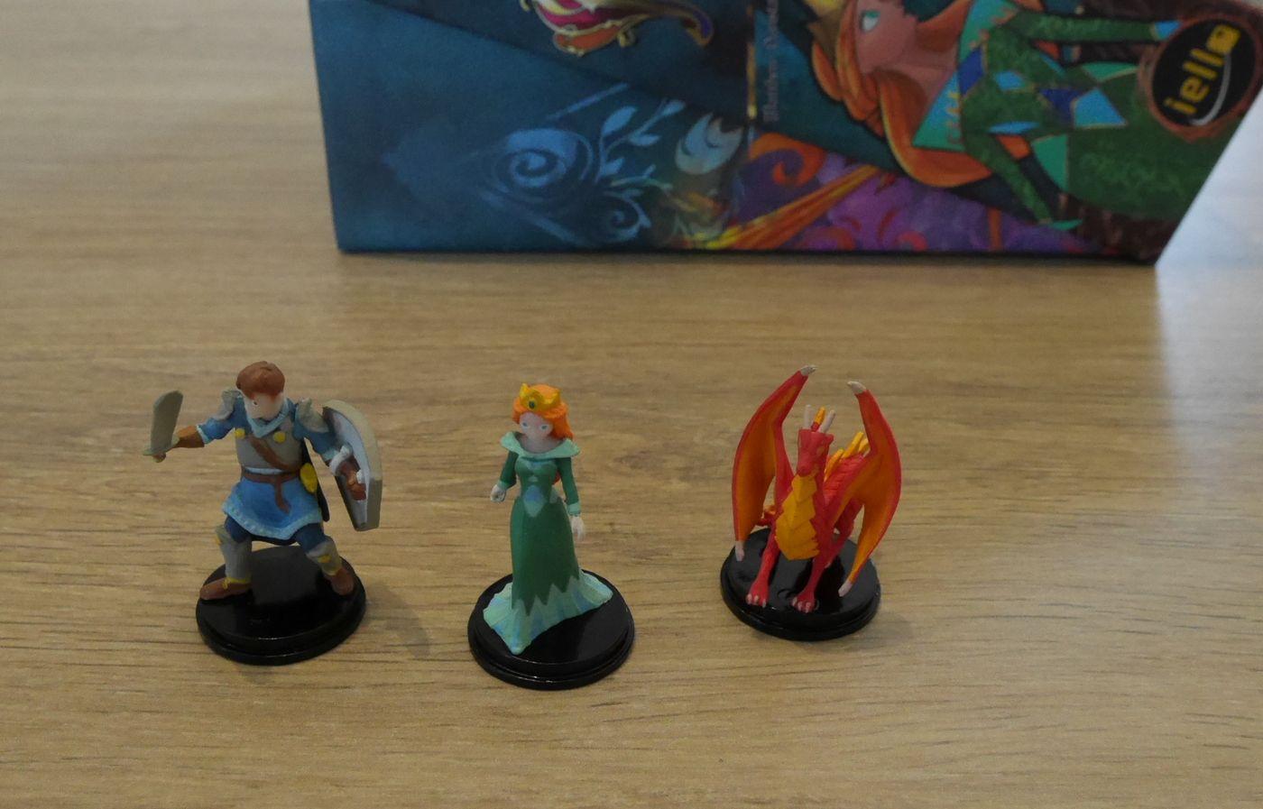 Lechevalier doit sauver le dragon et voler l'or de la princesse .... à moins que ce soit le contraire ?