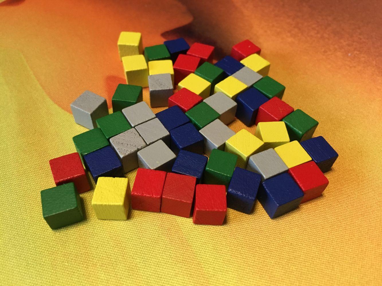 Les cubes marchandises