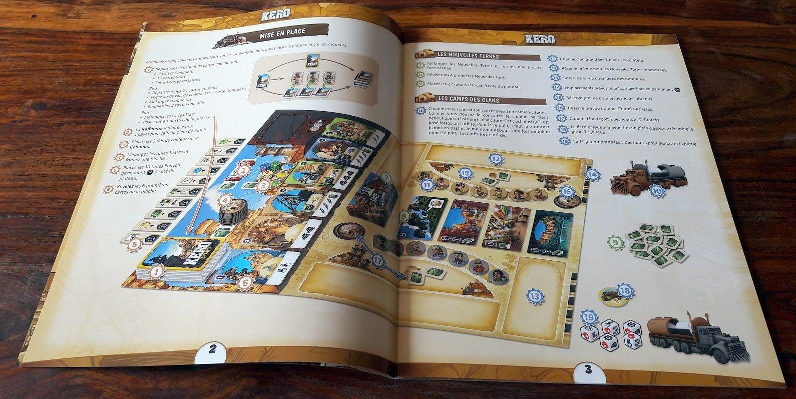 Le livret multilingue est très épais même si à peine 10 pages suffisent pour le français avec pas mal d'illustrations.