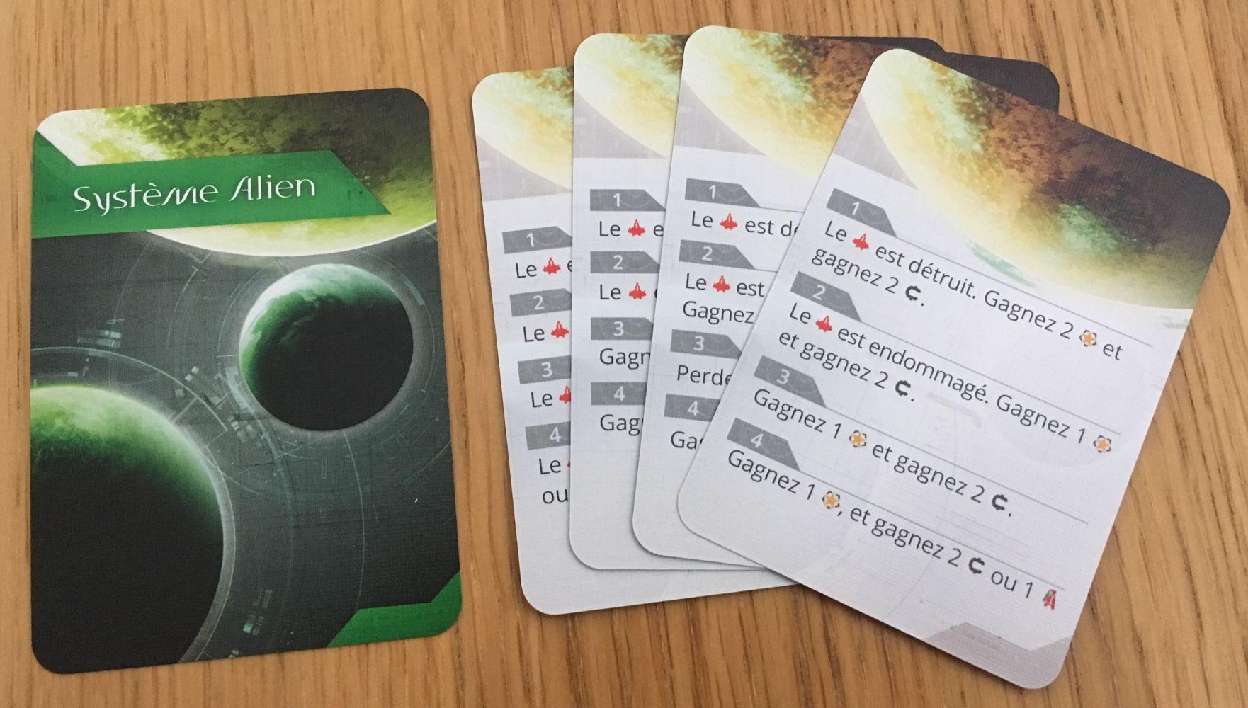 Cartes Système Alien