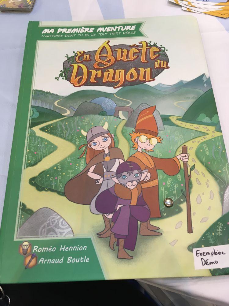 En quête du Dragon - Livre dont on est le petit héros