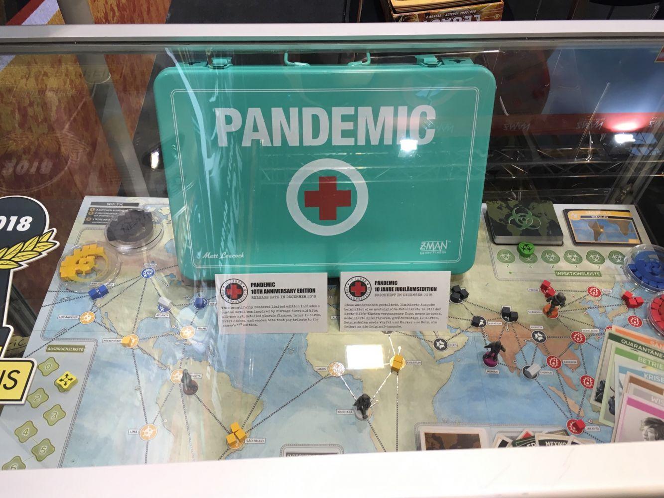 Pandémie version anniversaire