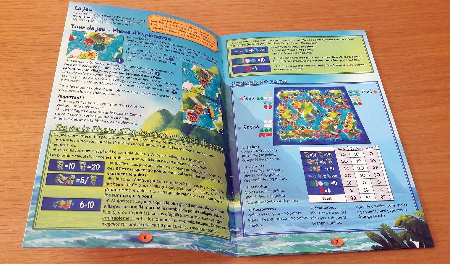 A peine 2 pages de règles avec pour résultat un jeu simple mais super efficace.