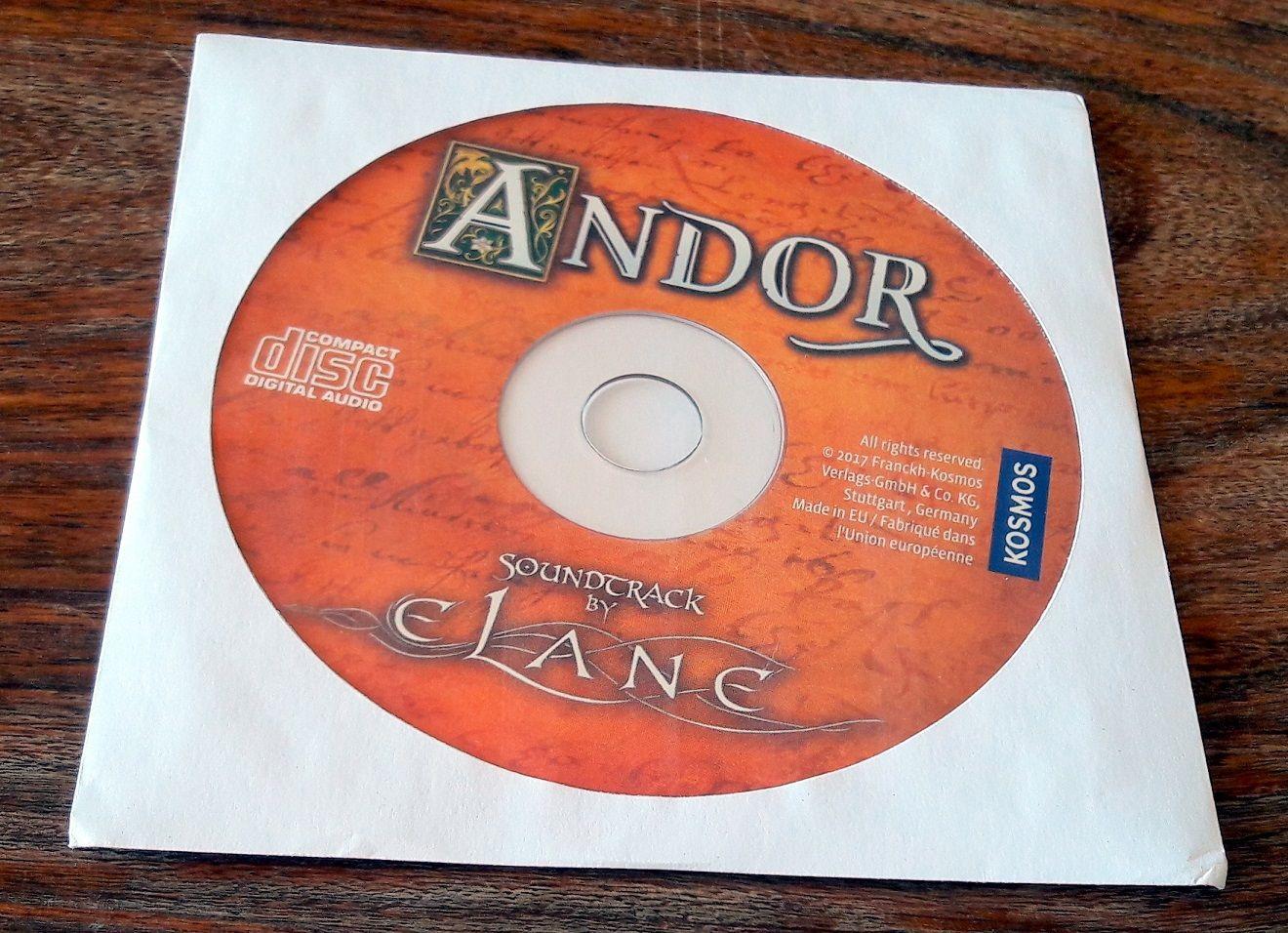 La musique d'ambiance du royaume d' Andor.