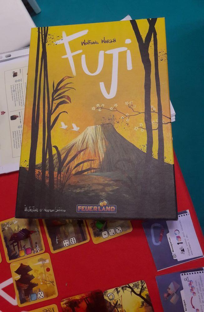 Fuji : la boite originale