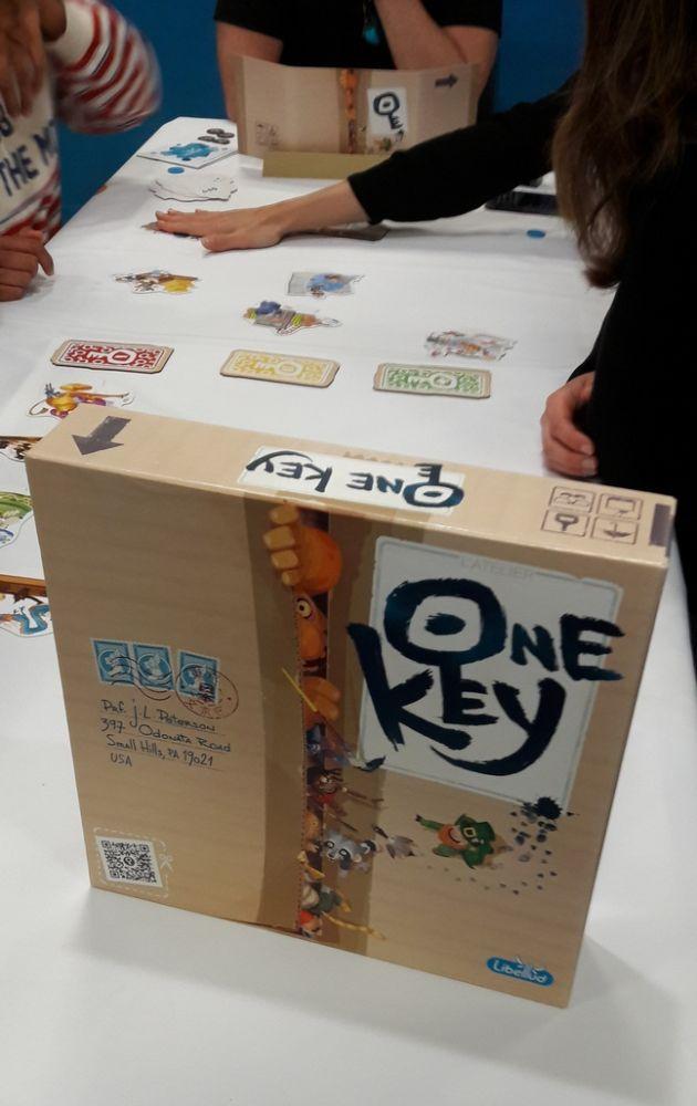 One Key : La boîte