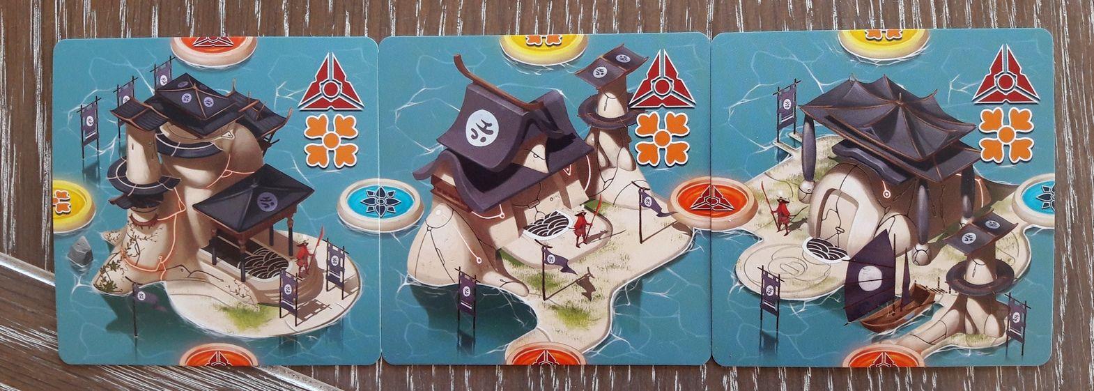 Les cartes îles.  1/5 : les bâtiments politiques.