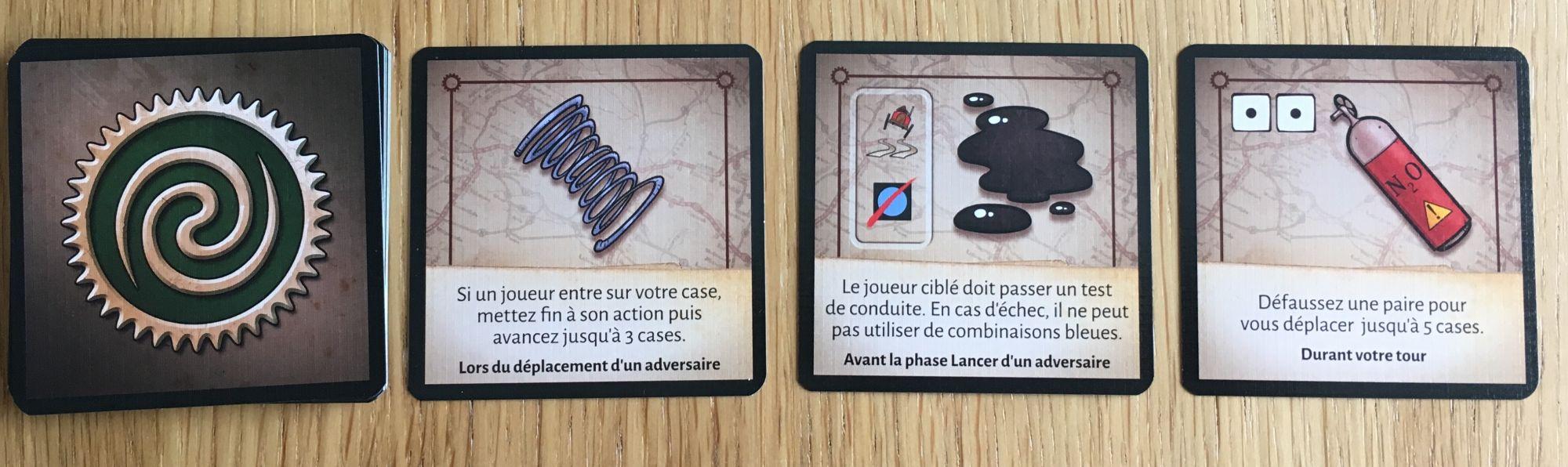 Les cartes Triche