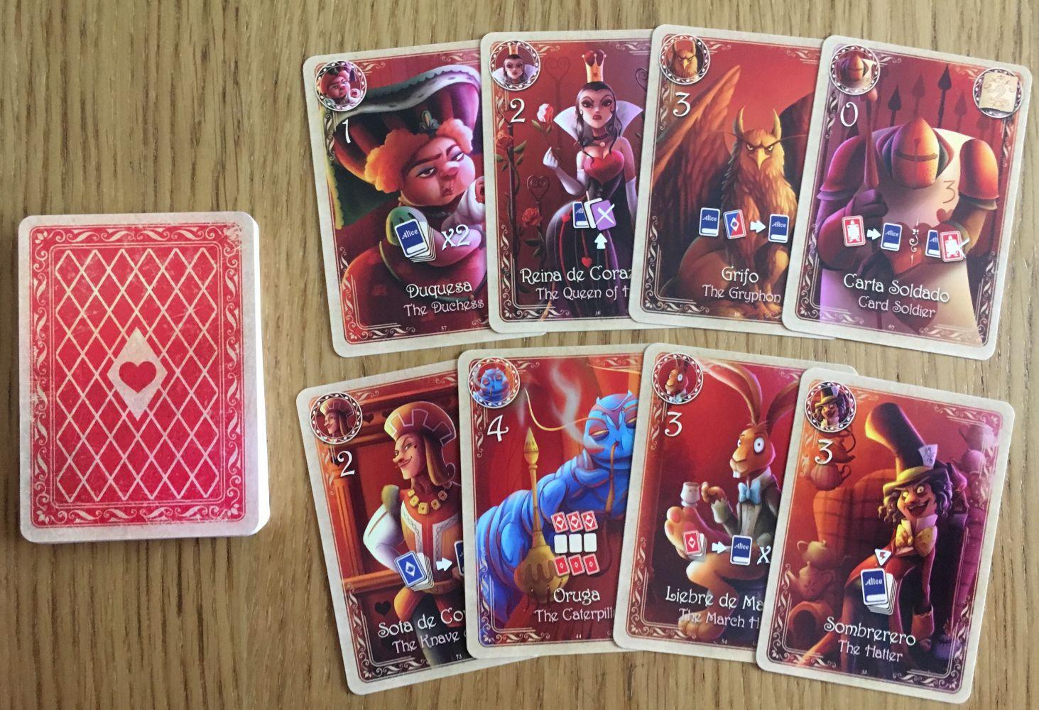 Les cartes «Personnages»