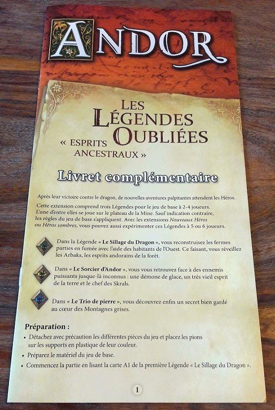 Un vrai livret de règles (même si comme d'habitudes les nouvelles règles sont explicités dans les légendes elles-mêmes).