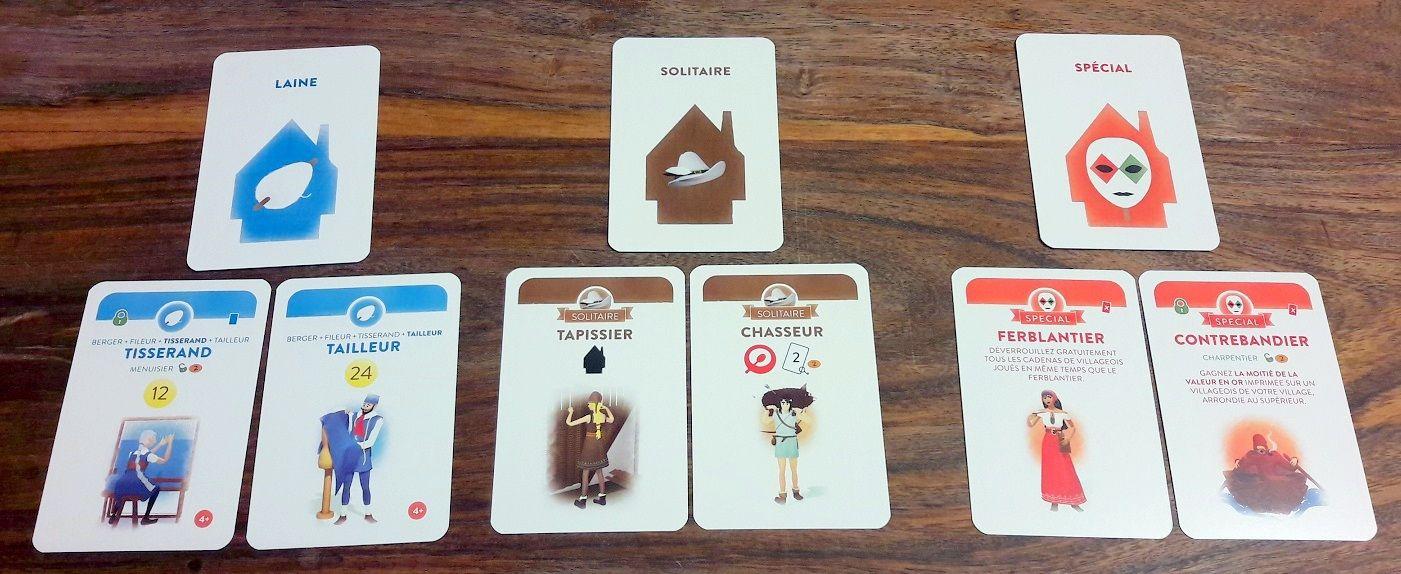 Laine n'est pas non plus disponible à moins de 4 joueurs, les solitaire ne propose jamais de chainages, les spéciales le sont :D