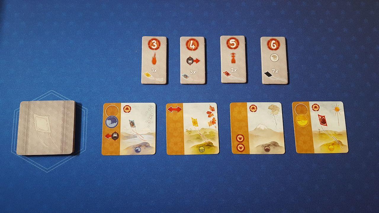 18 cartes au dos gris