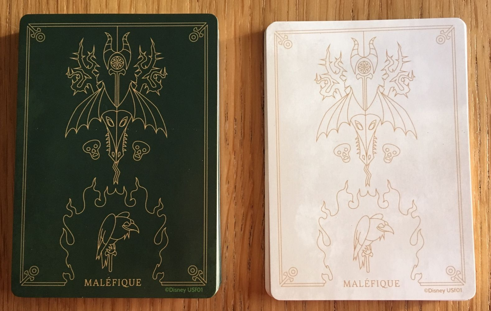 Les decks de cartes de Maléfique