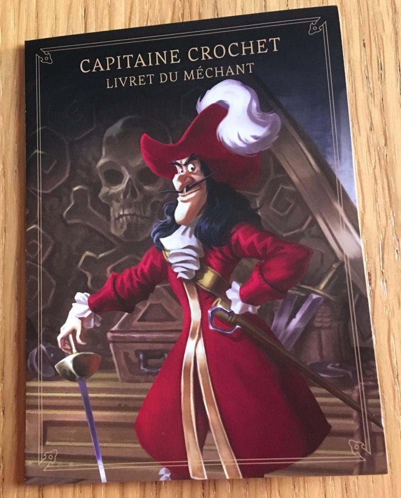 Livret d'aide de jeu pour le Capitaine Crochet