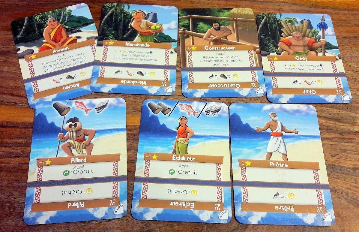 Une variante villageois est proposé pour les 2 modes compétitifs.