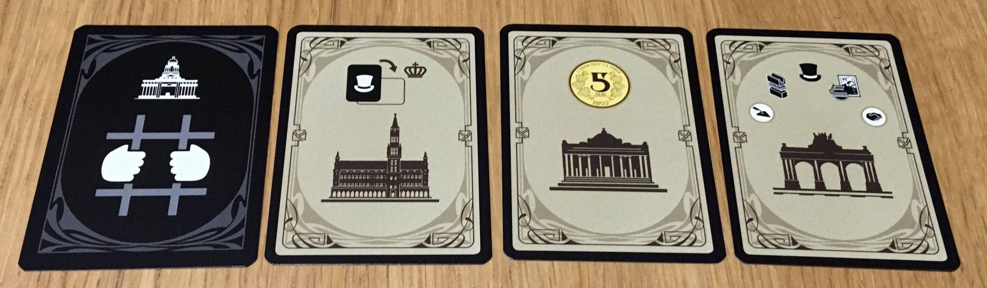 Les cartes Bruxelles et la prison