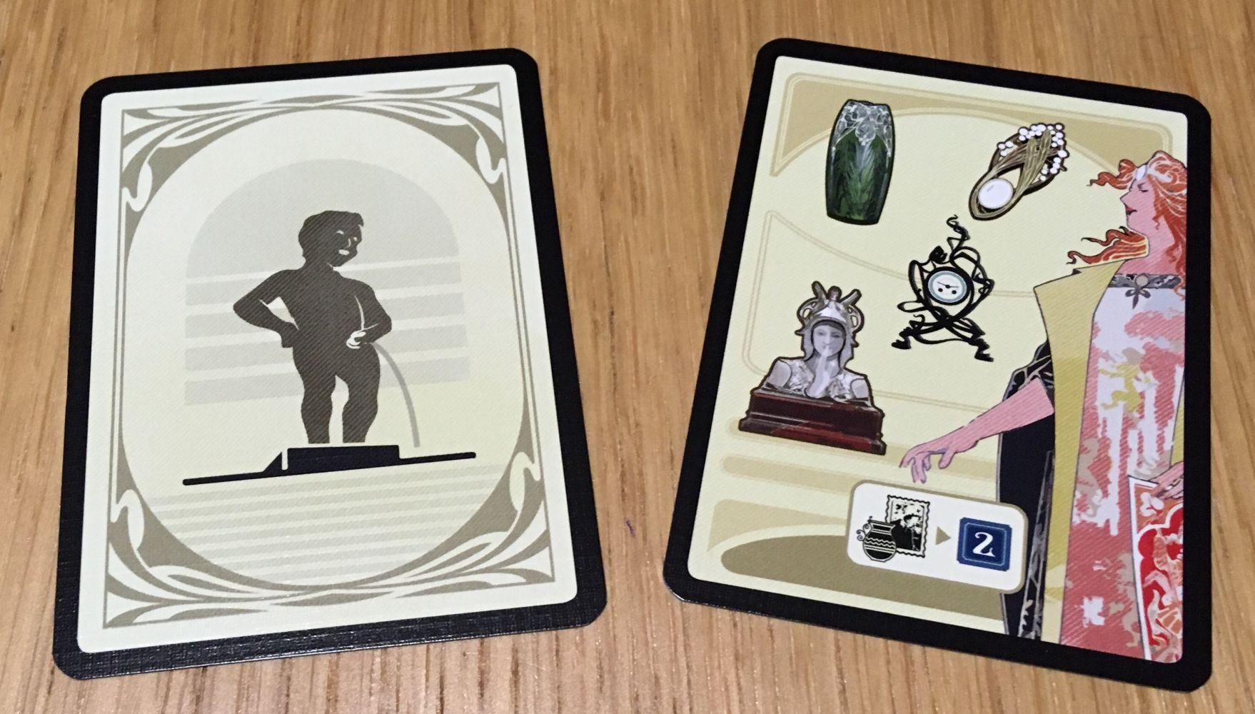 la carte Premier Joueur et la carte de l'Exposition Universelle