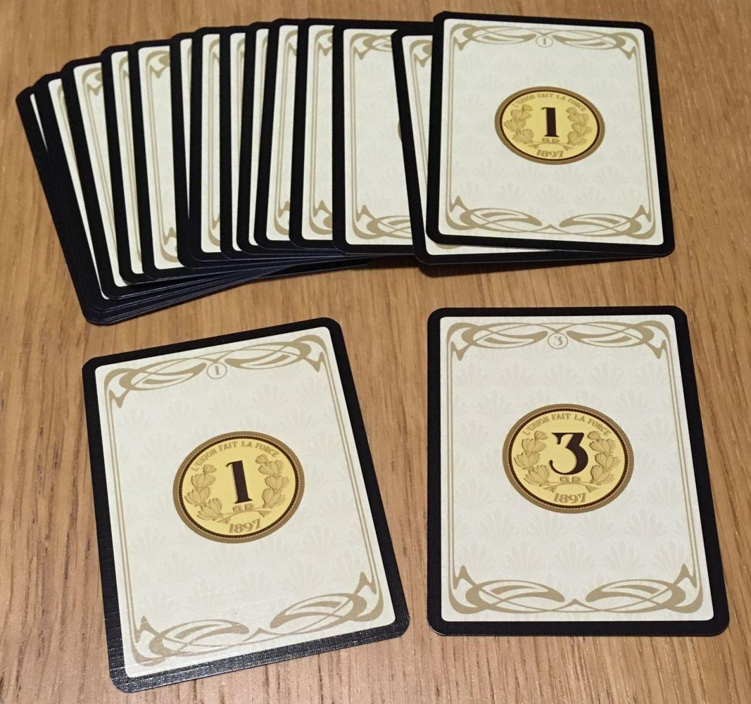 Les cartes Argent