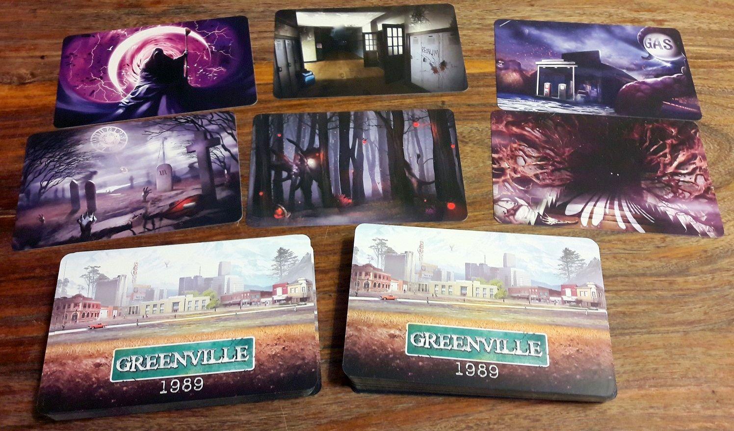 Les cartes sont le cœur du jeu et proposeront différentes scènes d'horreur avec plusieurs niveaux de détails et de lecture