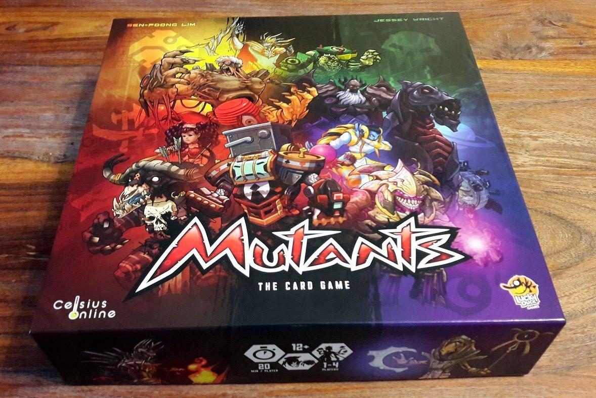 Superbe boite haute en couleurs très flashy pour un jeu qui ne l'est pas moins.
