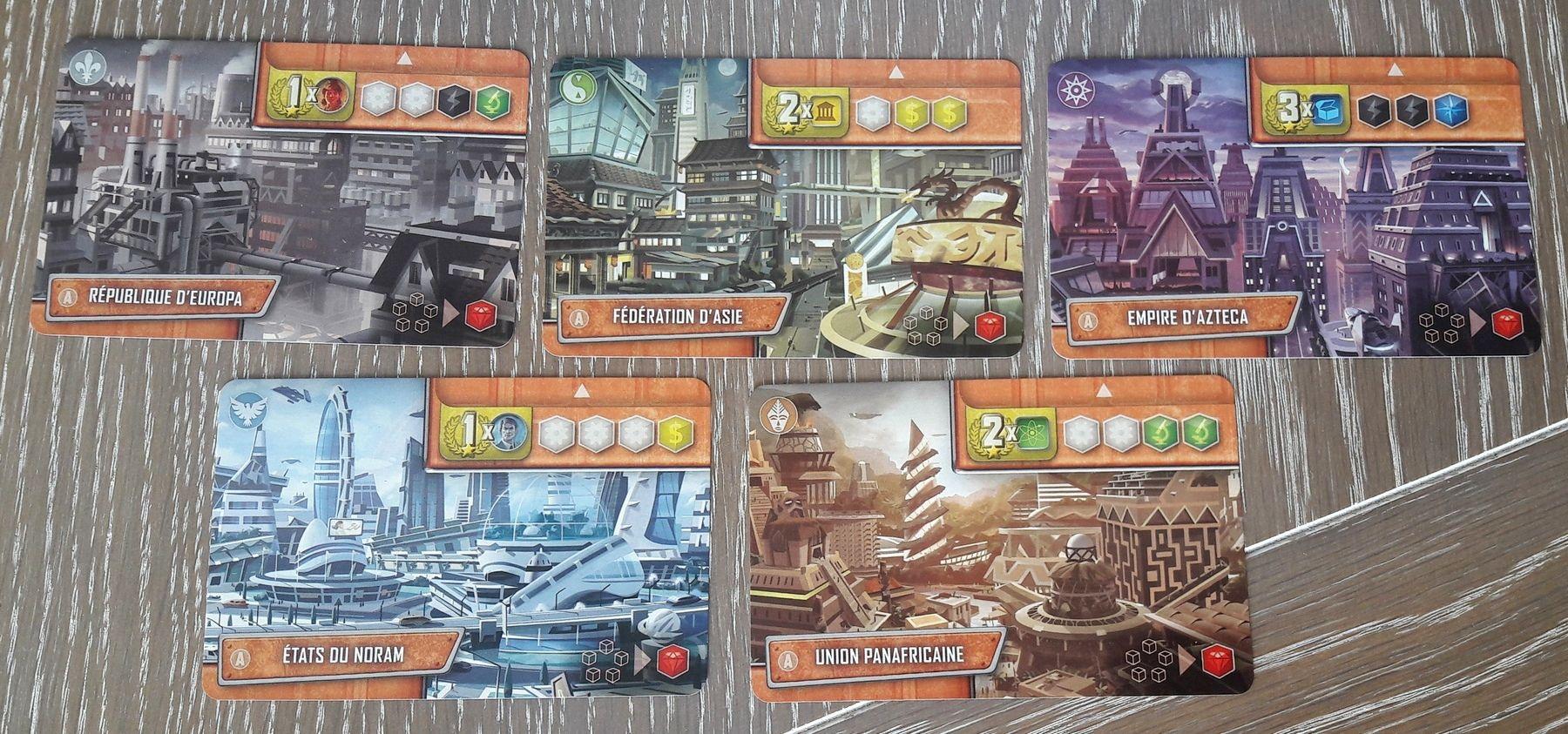 Les cartes Empires