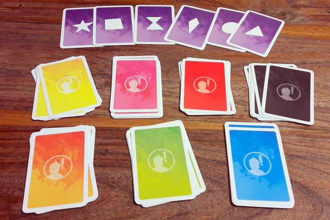 Chaque joueur devra choisir une des 6 émotions via ces cartes.