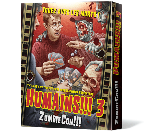 Humains !!! 3: ZombieCon !!!