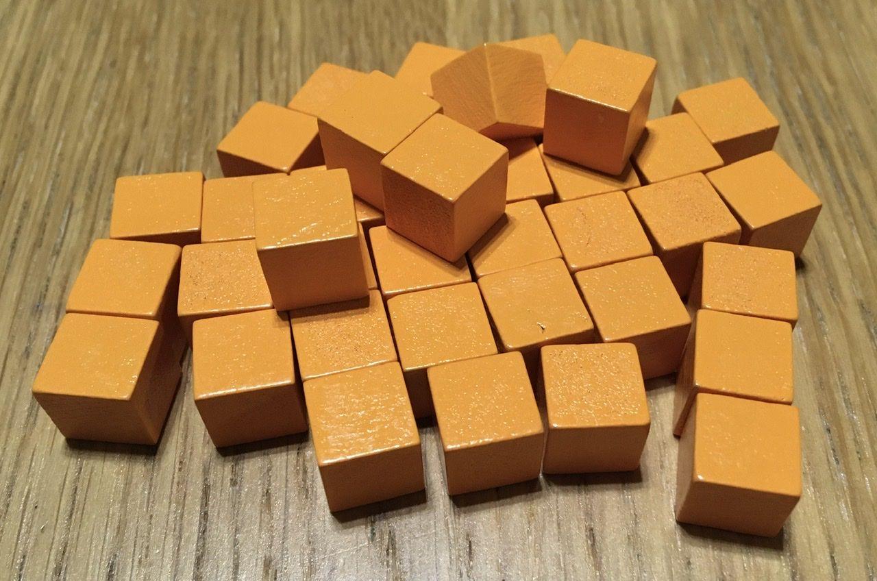 Les cubes de fer