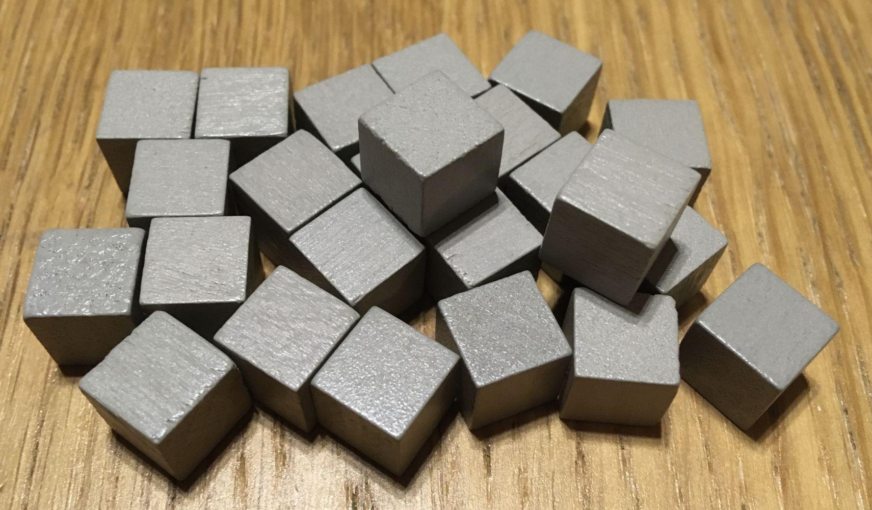 Les cubes de pierre