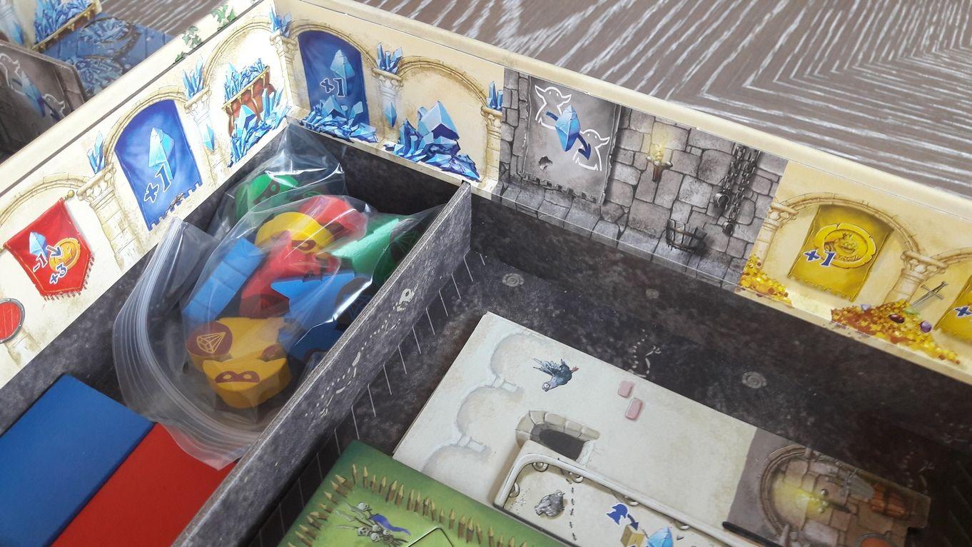 Zoom sur les fondations du château : le sous-sol