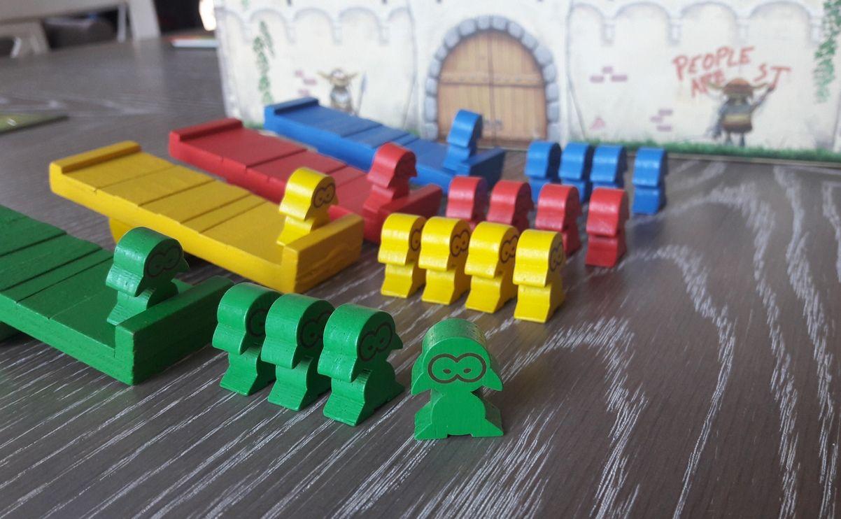 5 soldats gobelins par joueur