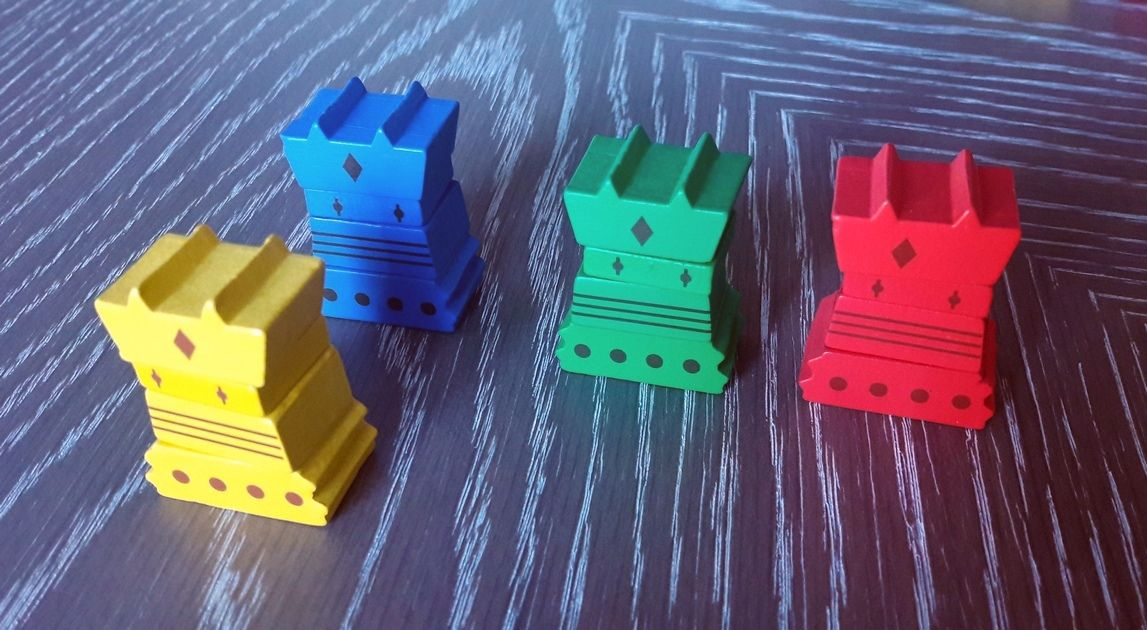 Les 4 totems ( version en kit , nécessite 2 Gobelins pour l'assemblage)