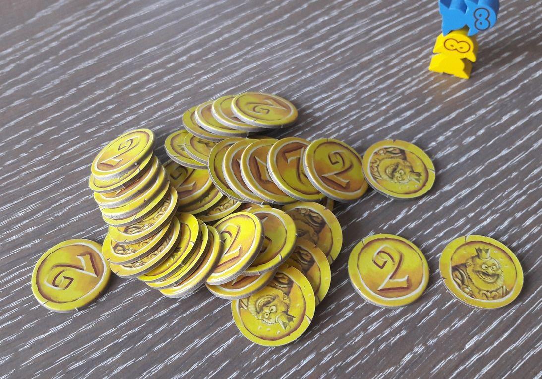 Les pièces de '2'