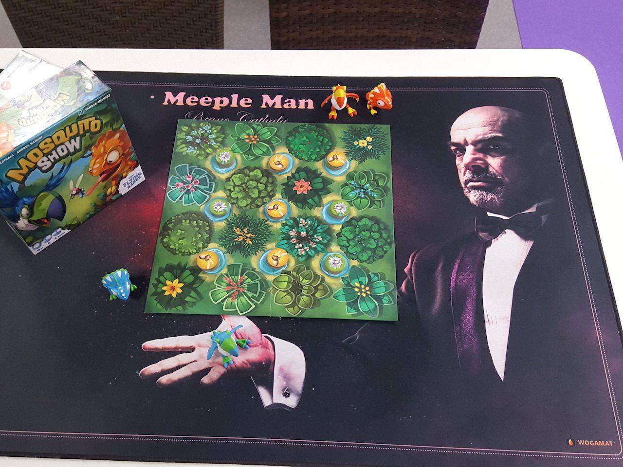 Le Wogomat Cathala au service de Mosquito Show chez The Flying Games.
